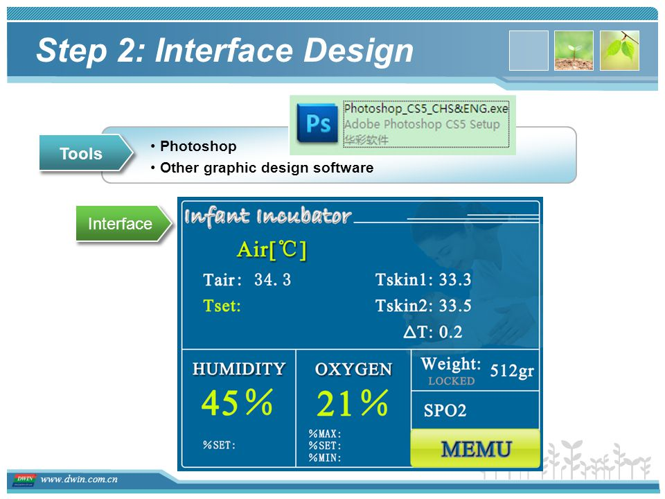 Step 2: Interface Design