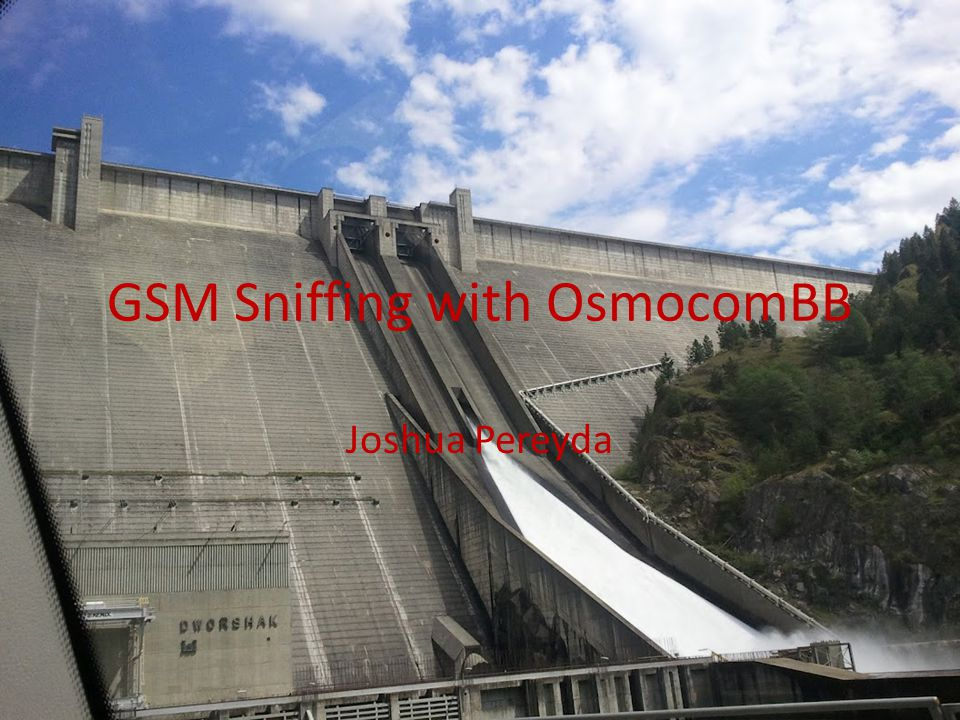 GSM Sniffing with OsmocomBB