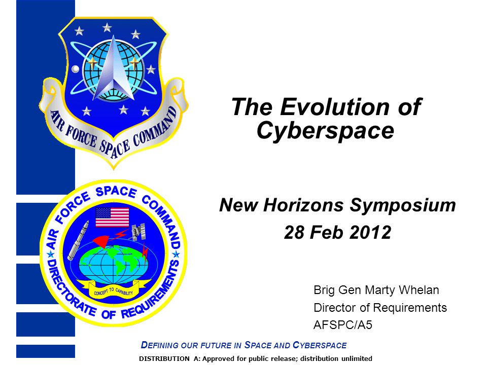 The Evolution of Cyberspace