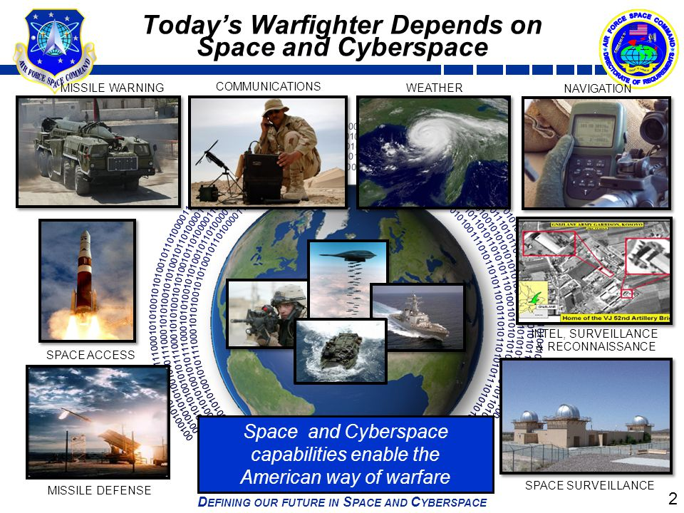 Today's Warfighter Depends on Space and Cyberspace