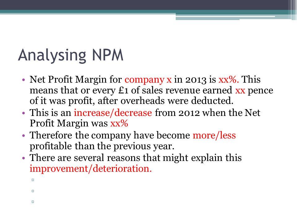 Analysing NPM