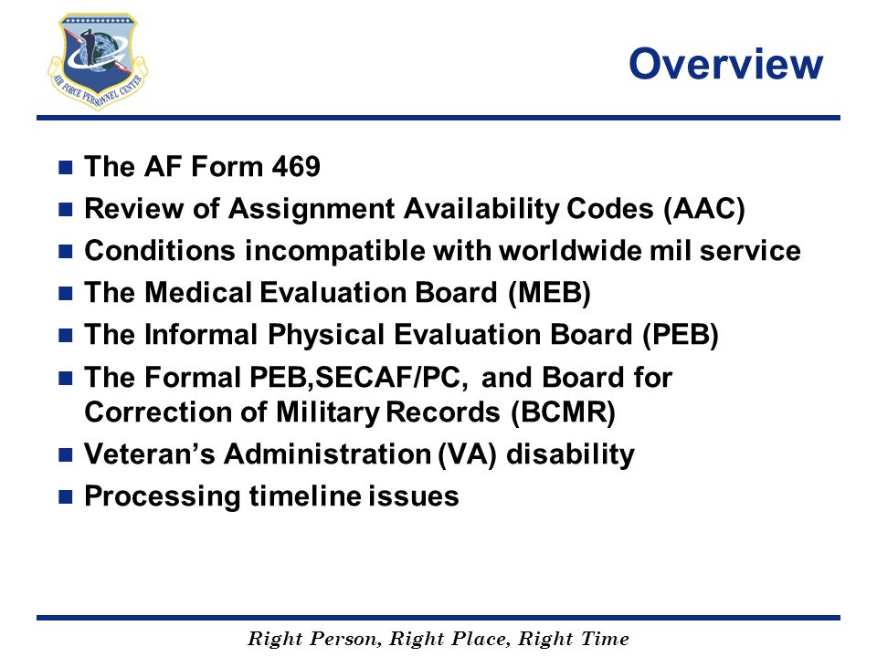 Afpc And The Disability Evaluation System - Ppt Video Online Download