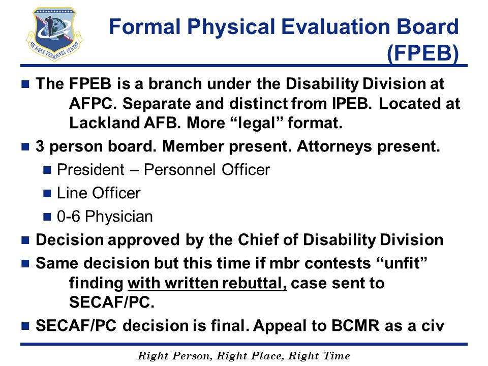 Formal Physical Evaluation Board (FPEB)