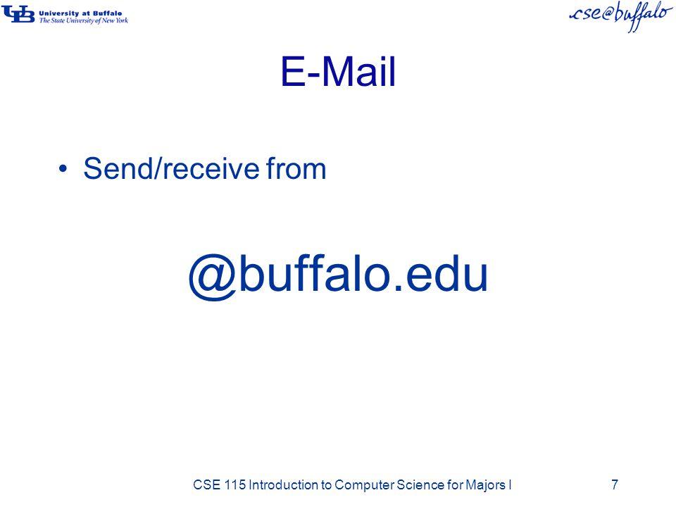 @buffalo.edu E-Mail Send/receive from