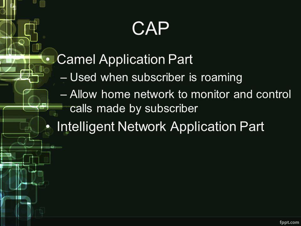 CAP Camel Application Part Intelligent Network Application Part