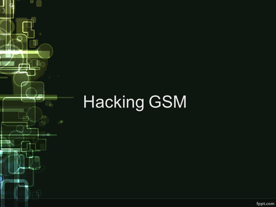 Hacking GSM