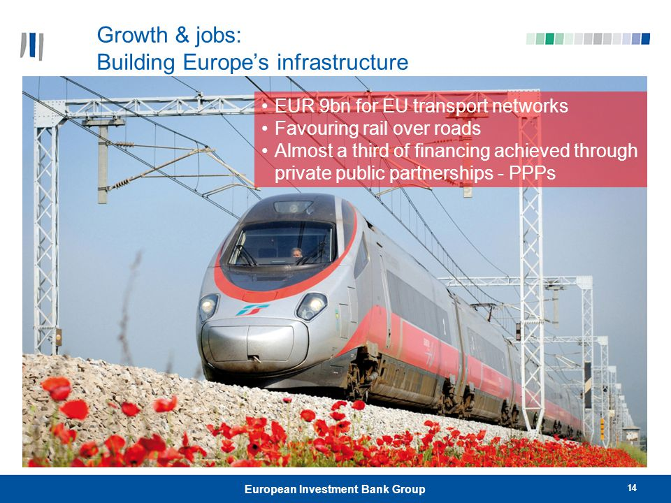 Growth & jobs: Building Europe's infrastructure