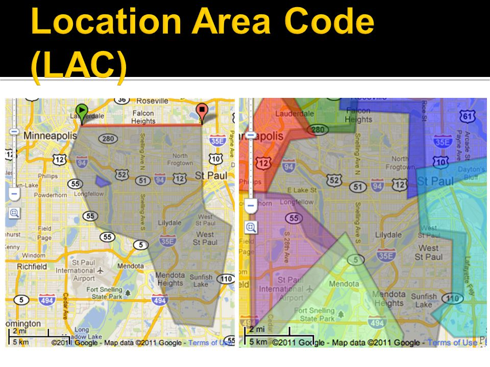 Location Area Code (LAC)