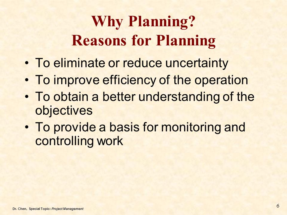Why Planning Reasons for Planning