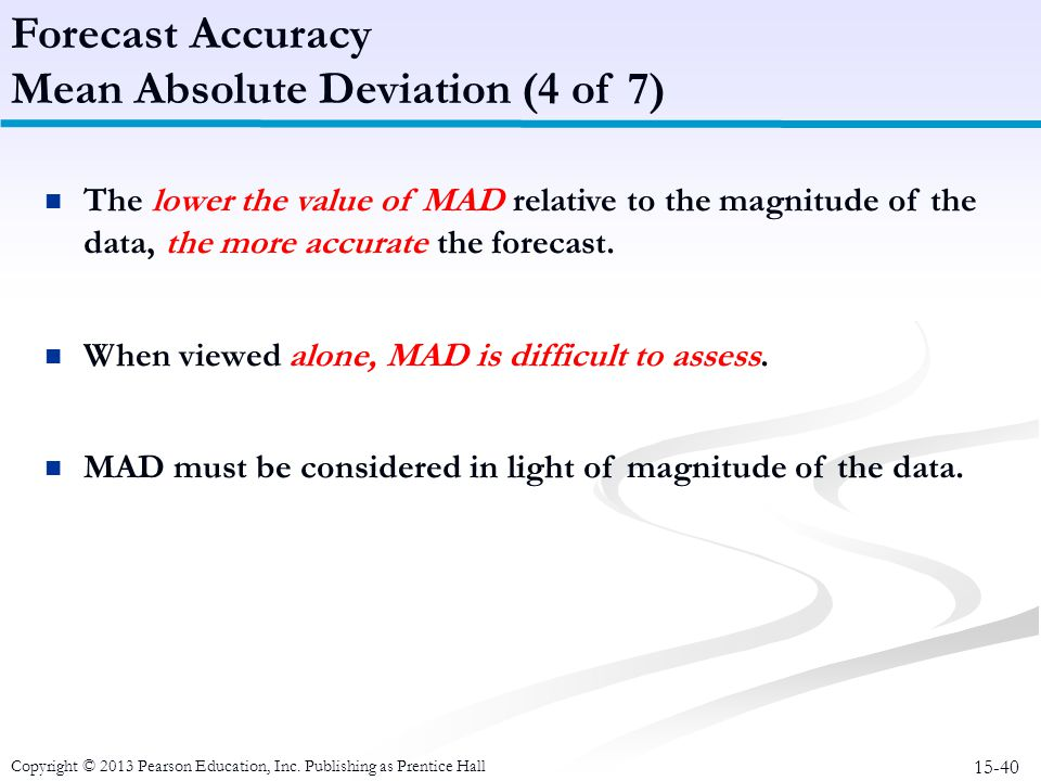 Mean Absolute Deviation (4 of 7)
