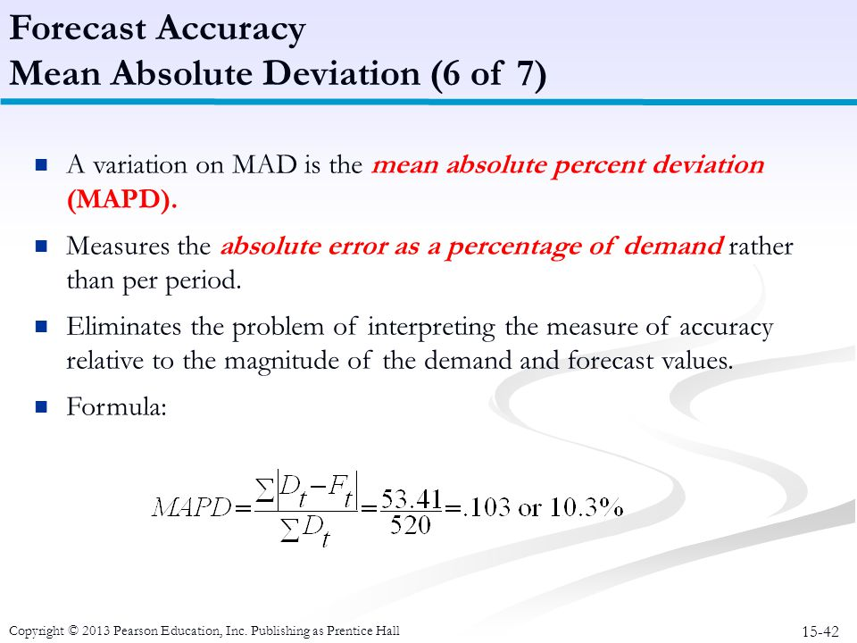 Mean Absolute Deviation (6 of 7)