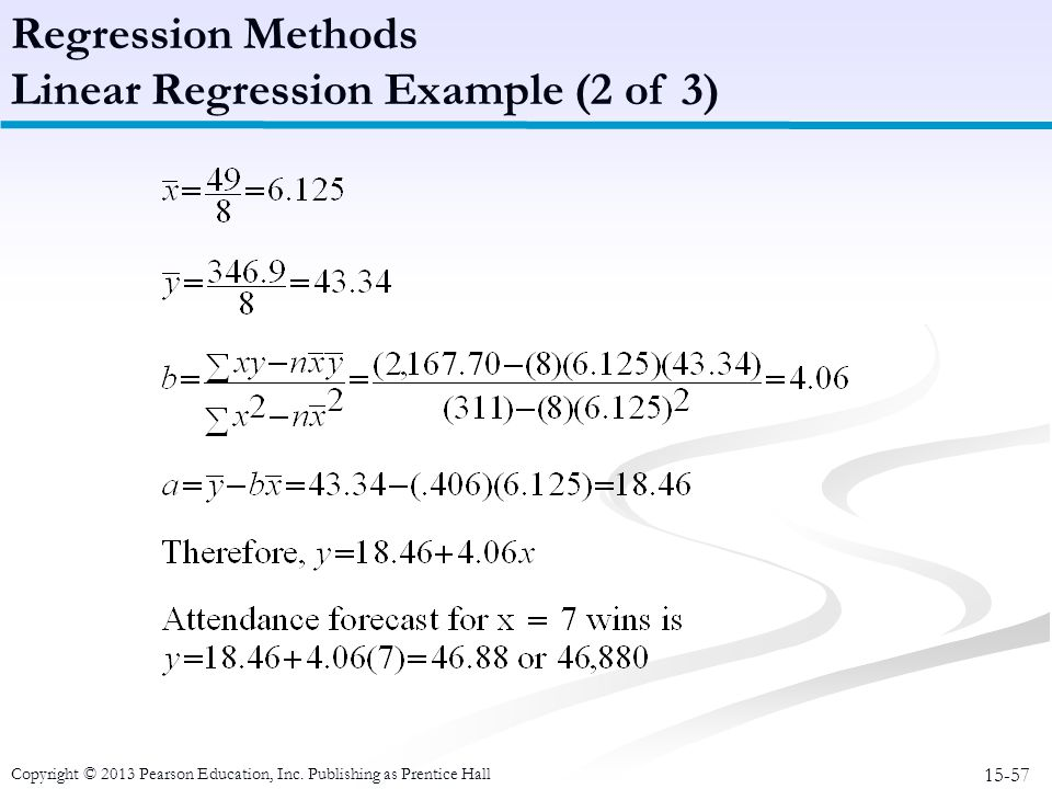 Linear Regression Example (2 of 3)