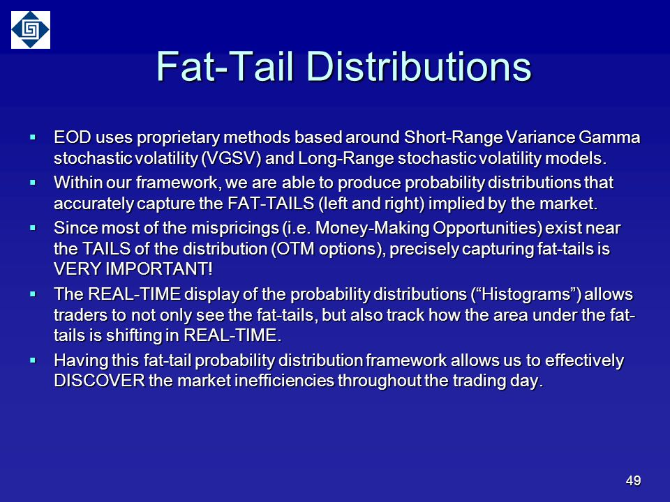 Fat-Tail Distributions
