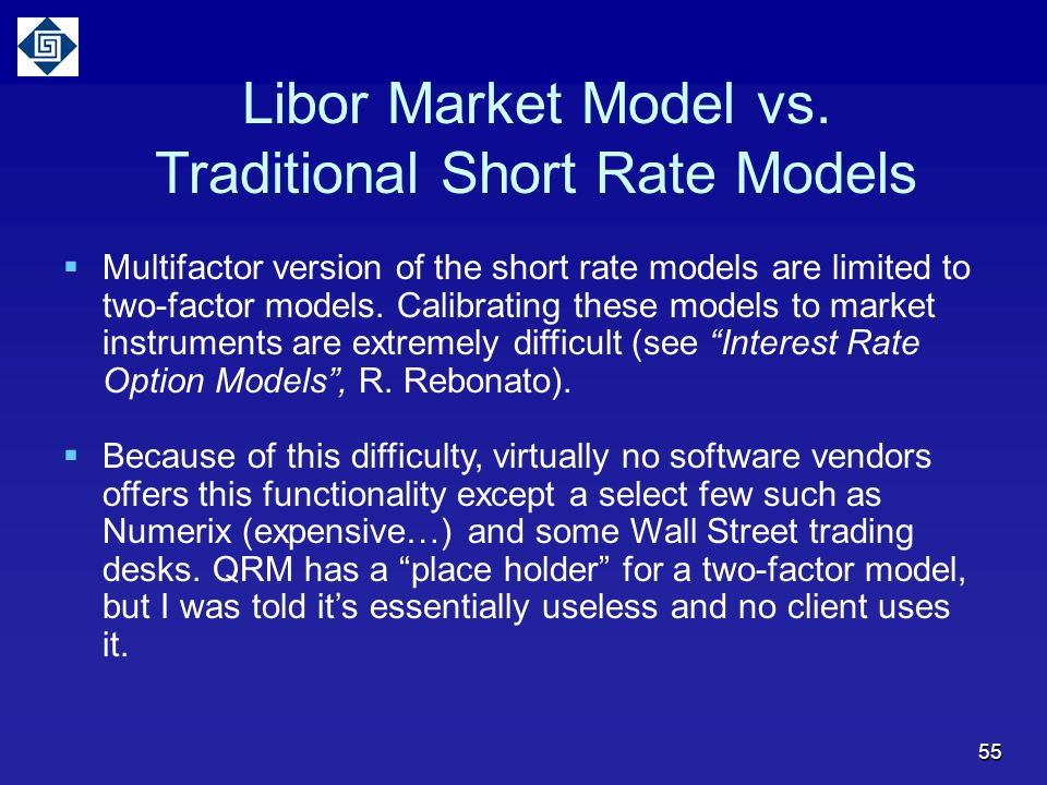 Traditional Short Rate Models