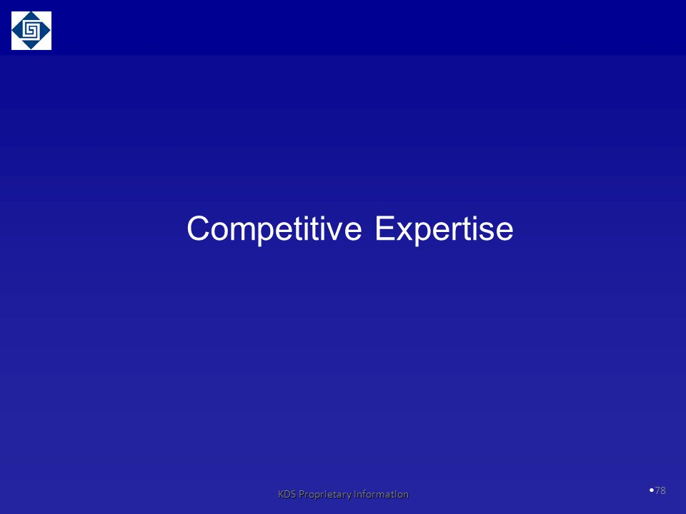 Competitive Expertise