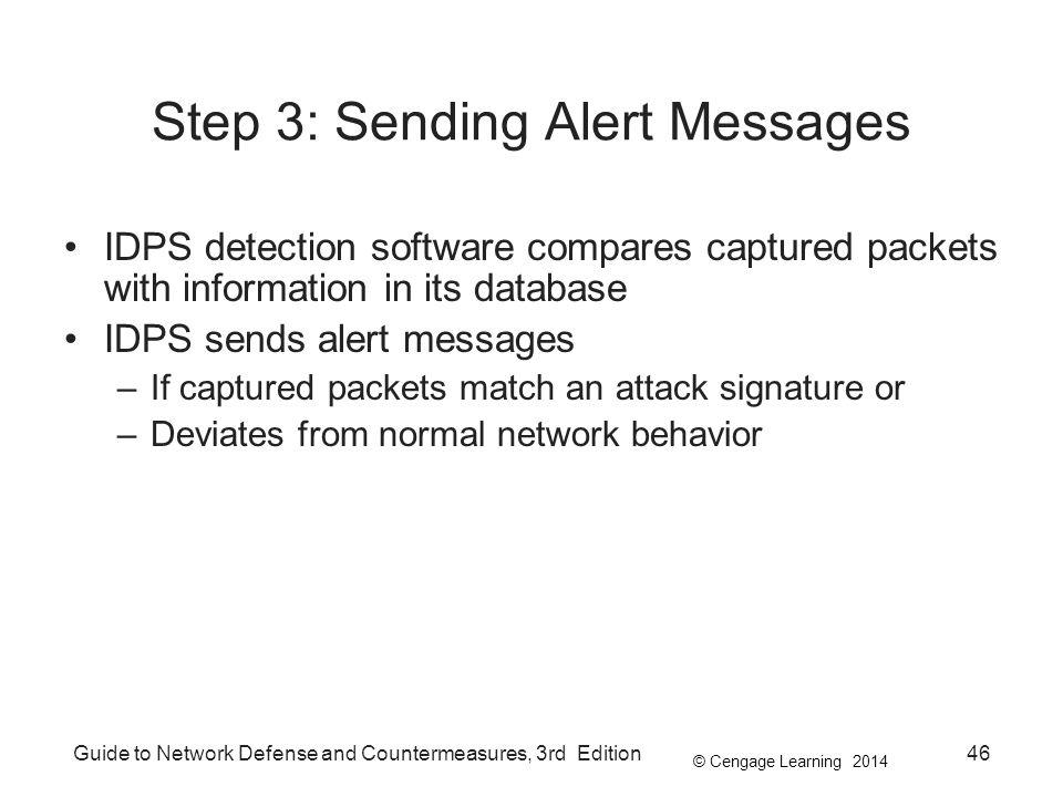 Step 3: Sending Alert Messages