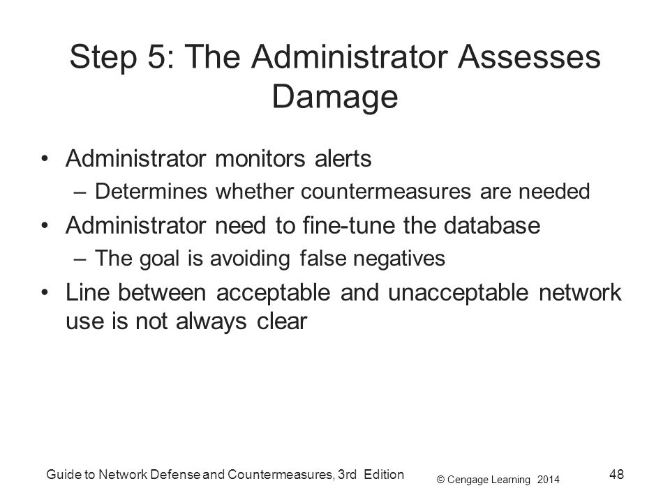 Step 5: The Administrator Assesses Damage