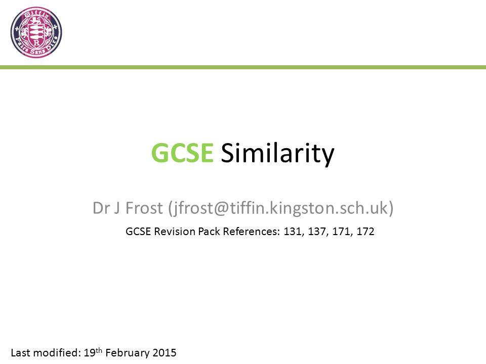 Dr J Frost (jfrost@tiffin.kingston.sch.uk)