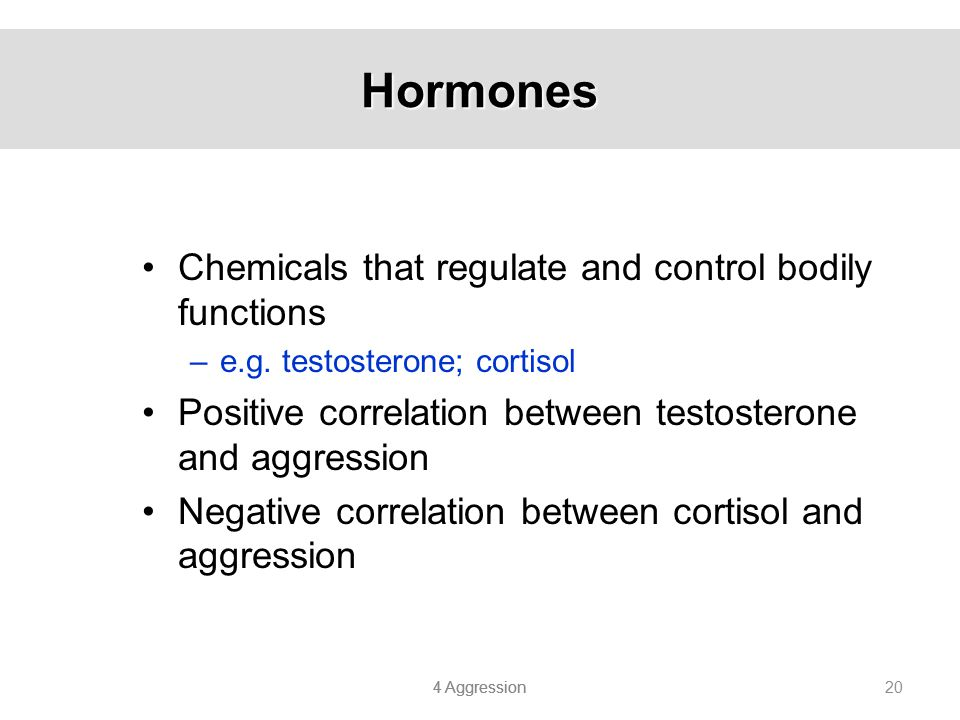 Hormones Chemicals that regulate and control bodily functions