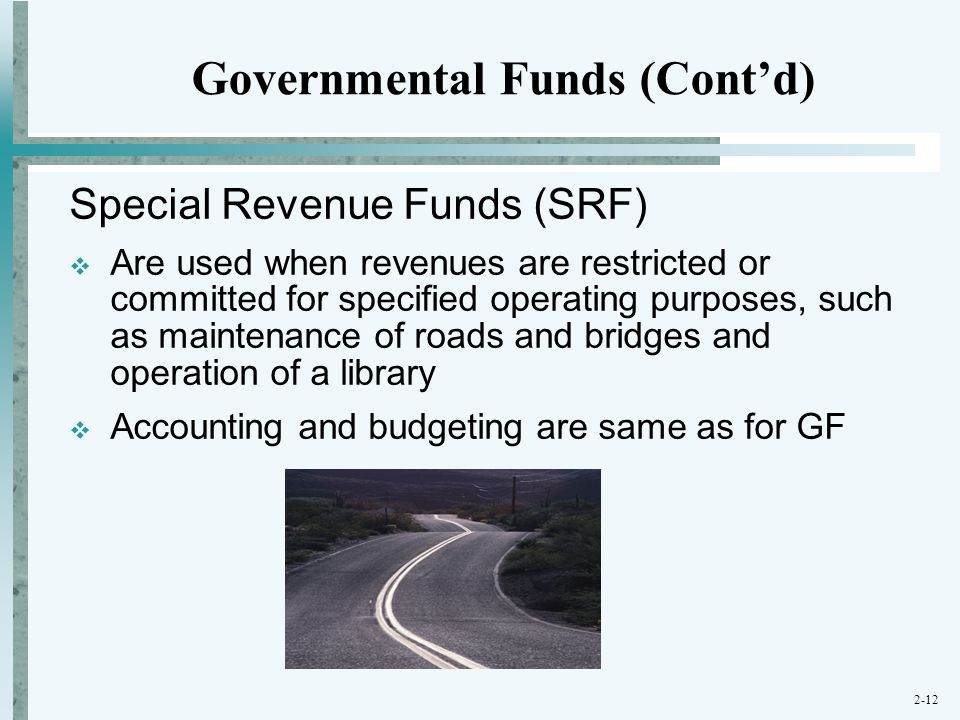 Governmental Funds (Cont'd)