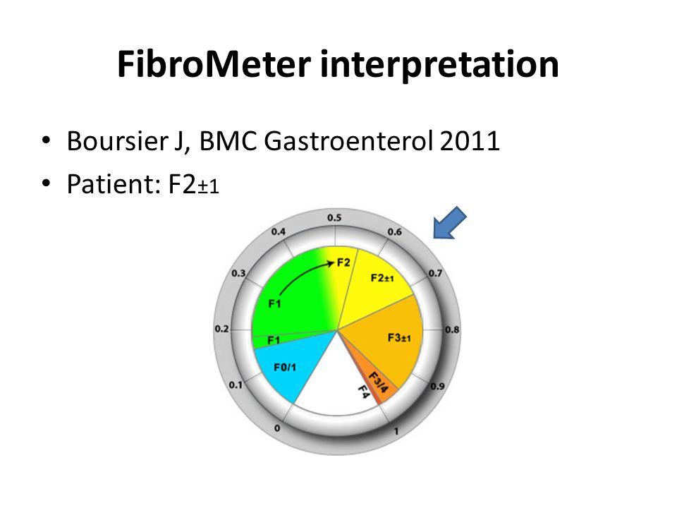 FibroMeter interpretation
