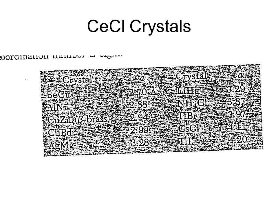CeCl Crystals