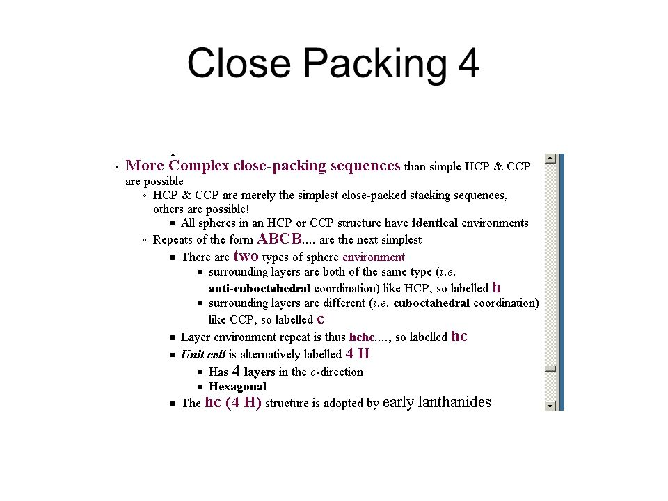 Close Packing 4