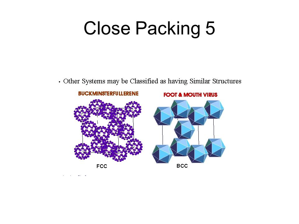 Close Packing 5