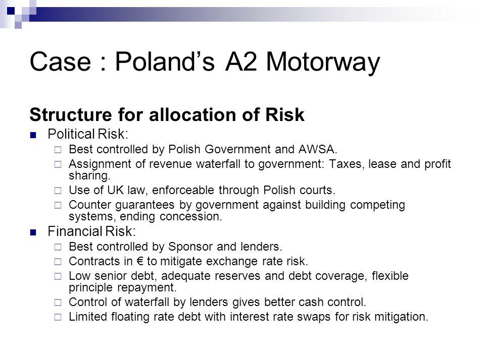 Case : Poland's A2 Motorway