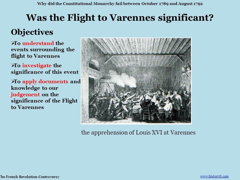 Was the Flight to Varennes significant