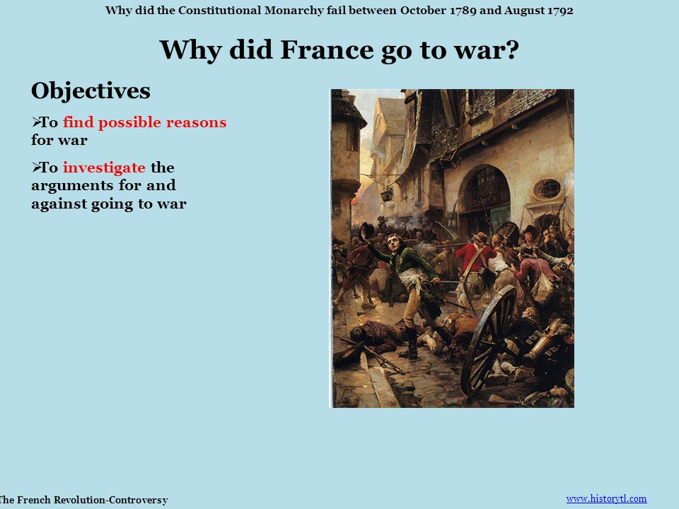 The French Revolution-Controversy