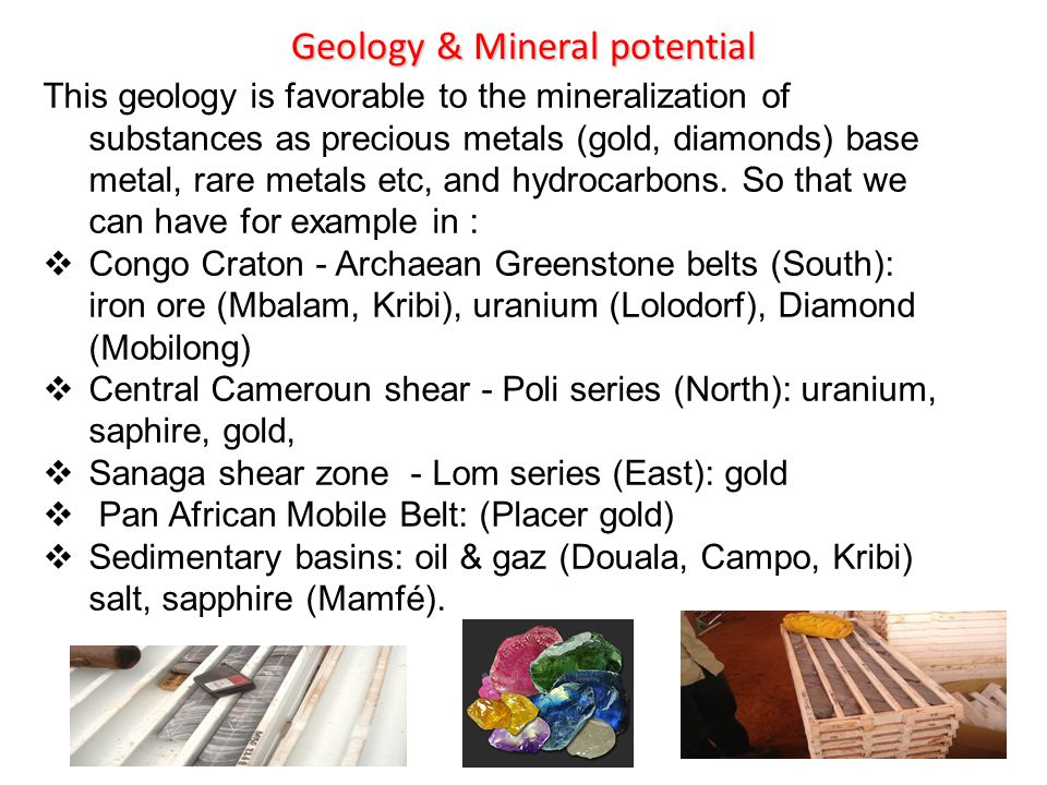 Geology & Mineral potential