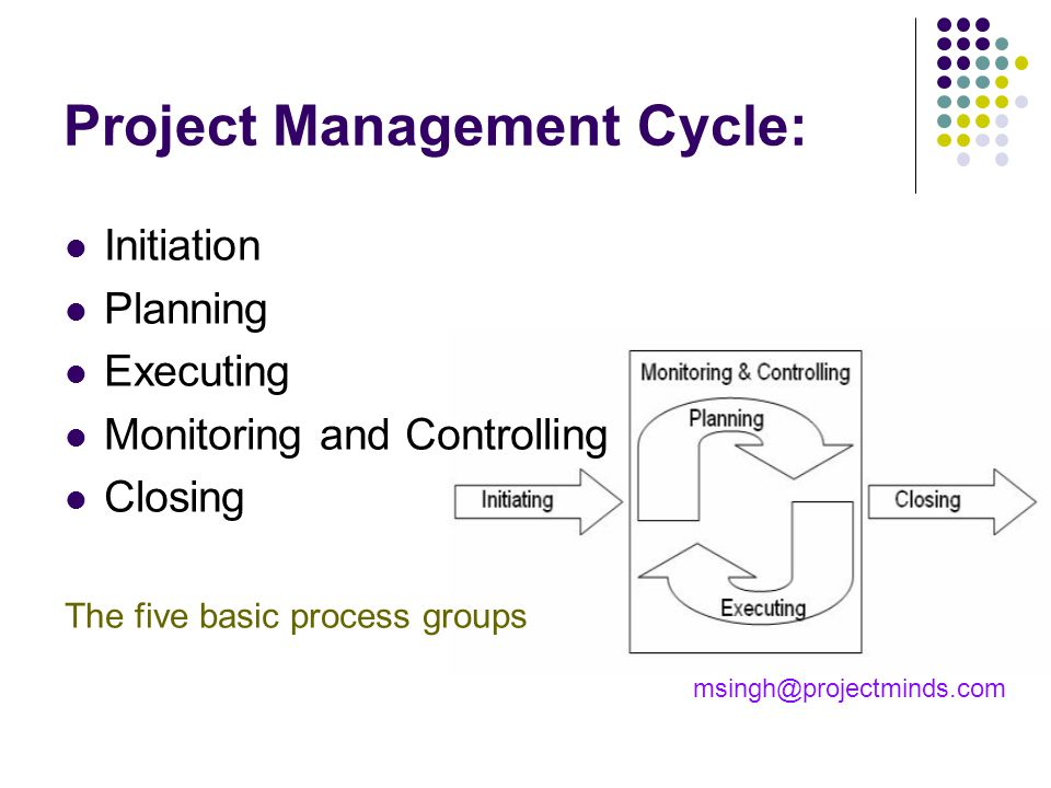 Project Management Cycle:
