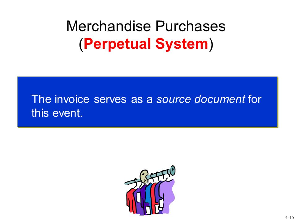 Merchandise Purchases (Perpetual System)