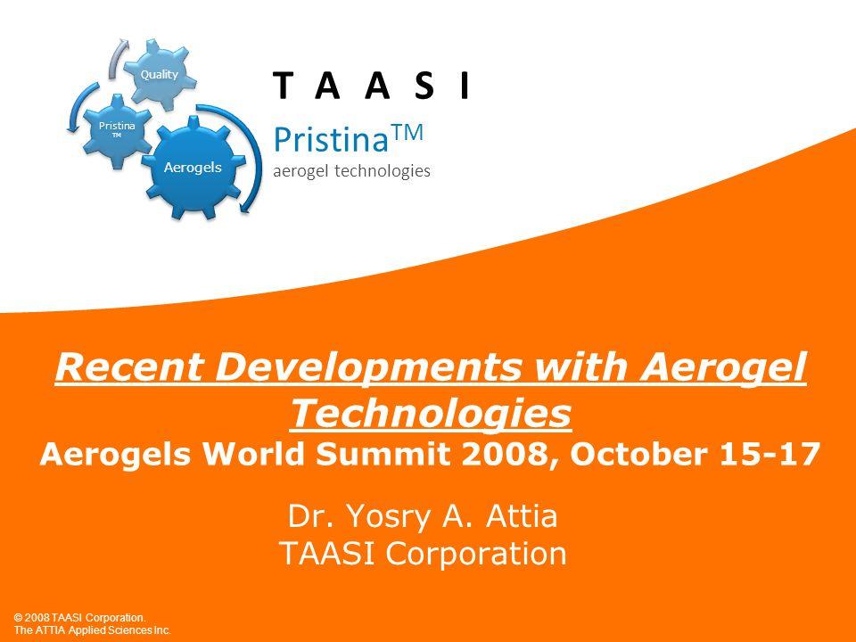 Dr. Yosry A. Attia TAASI Corporation