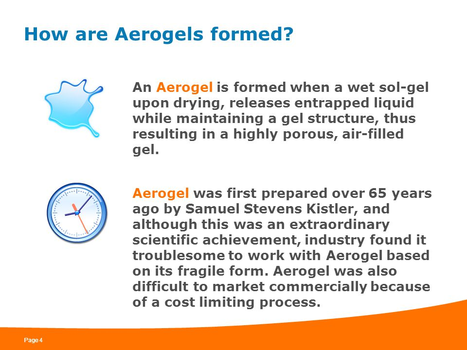 How are Aerogels formed