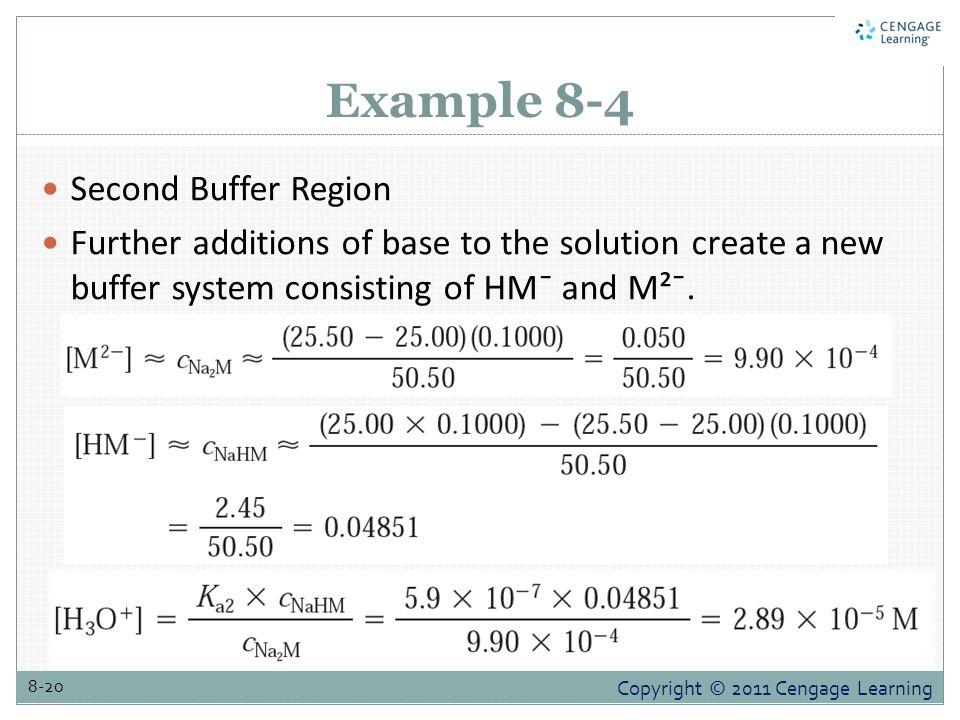 Example 8-4 Second Buffer Region