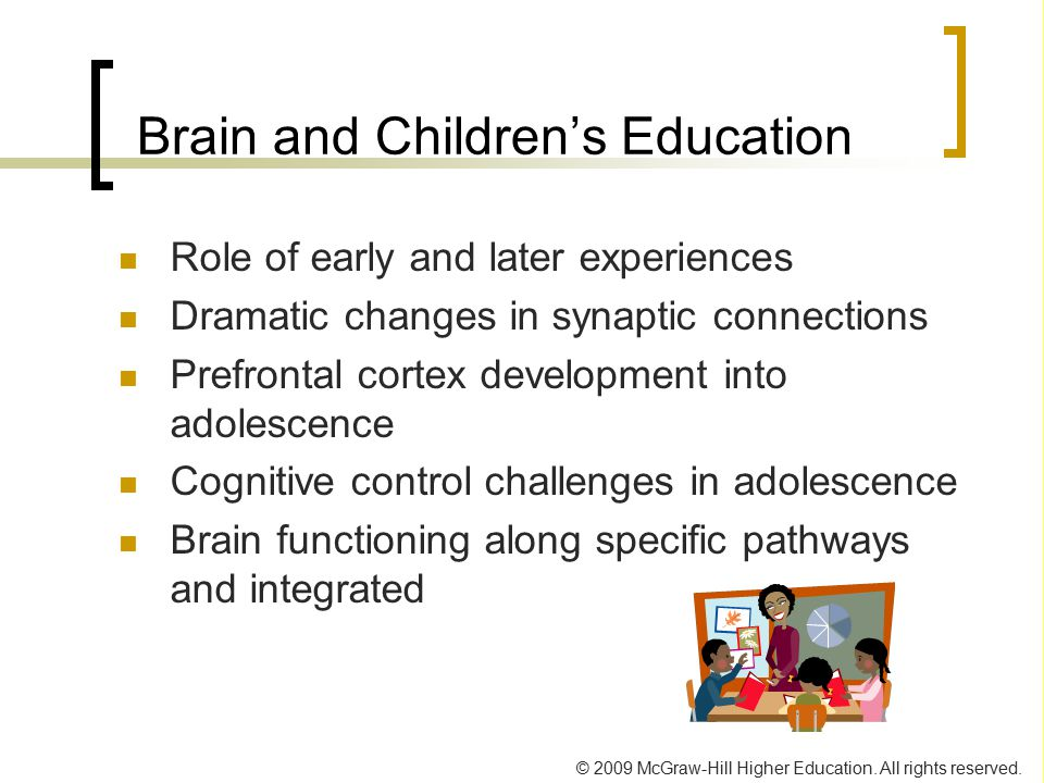 Brain and Children's Education