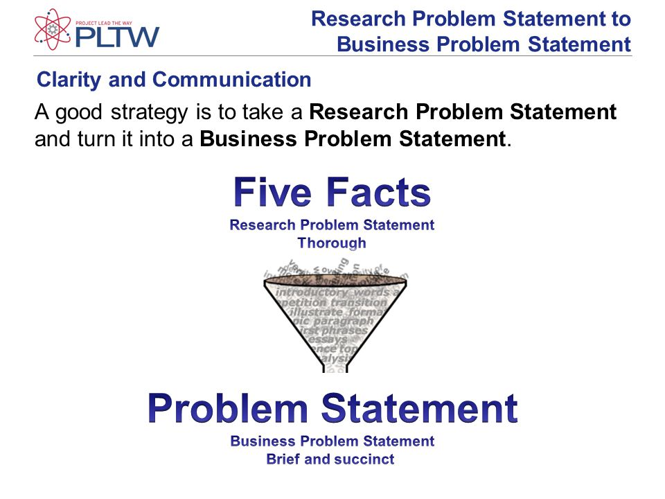 developing a problem statement A good problem statement begins by introducing the broad area in which your research is centered developing research questions: a guide for social scientists.
