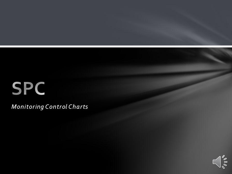 Monitoring Control Charts