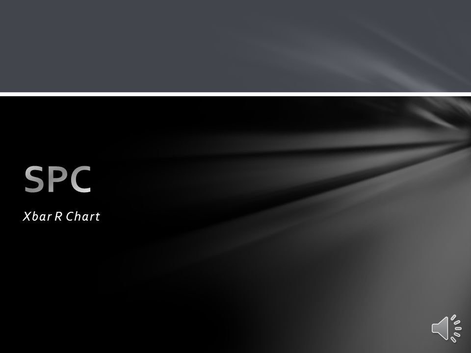 SPC Xbar R Chart