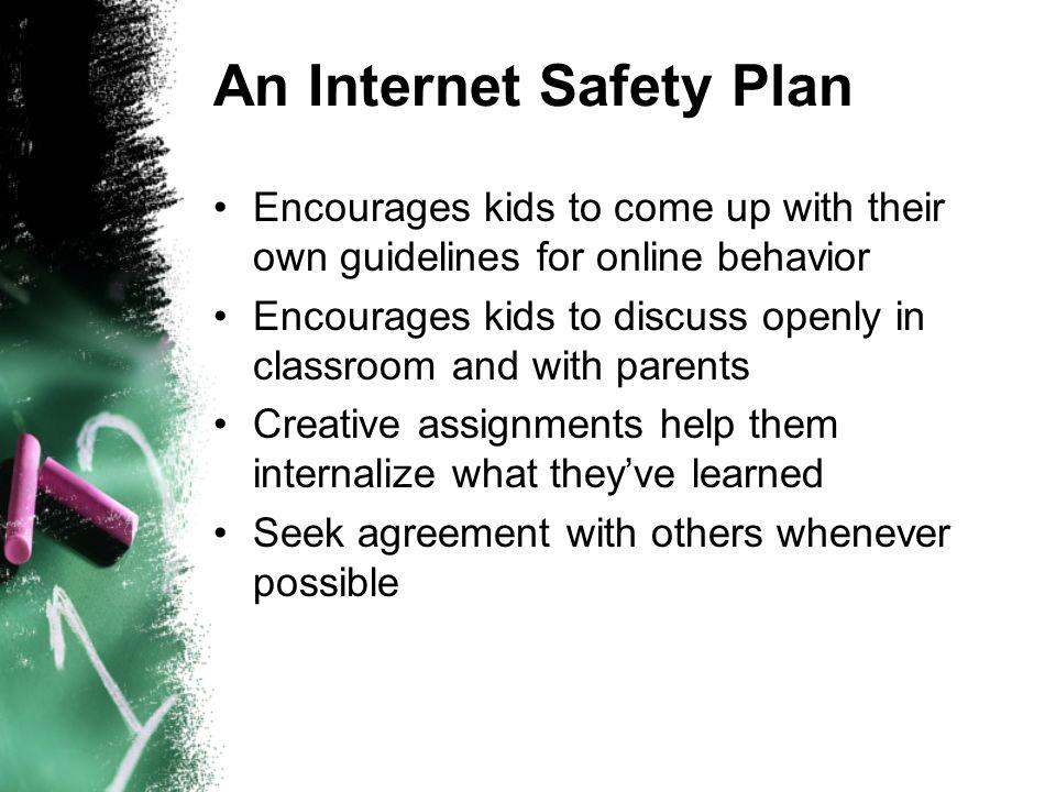 An Internet Safety Plan