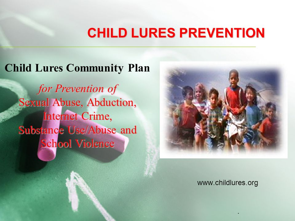 CHILD LURES PREVENTION