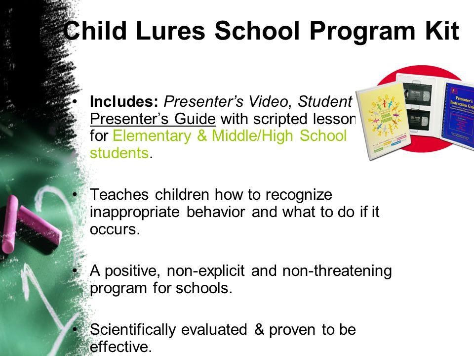 Child Lures School Program Kit