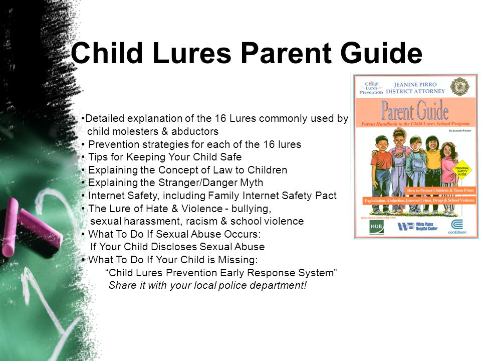 Child Lures Parent Guide