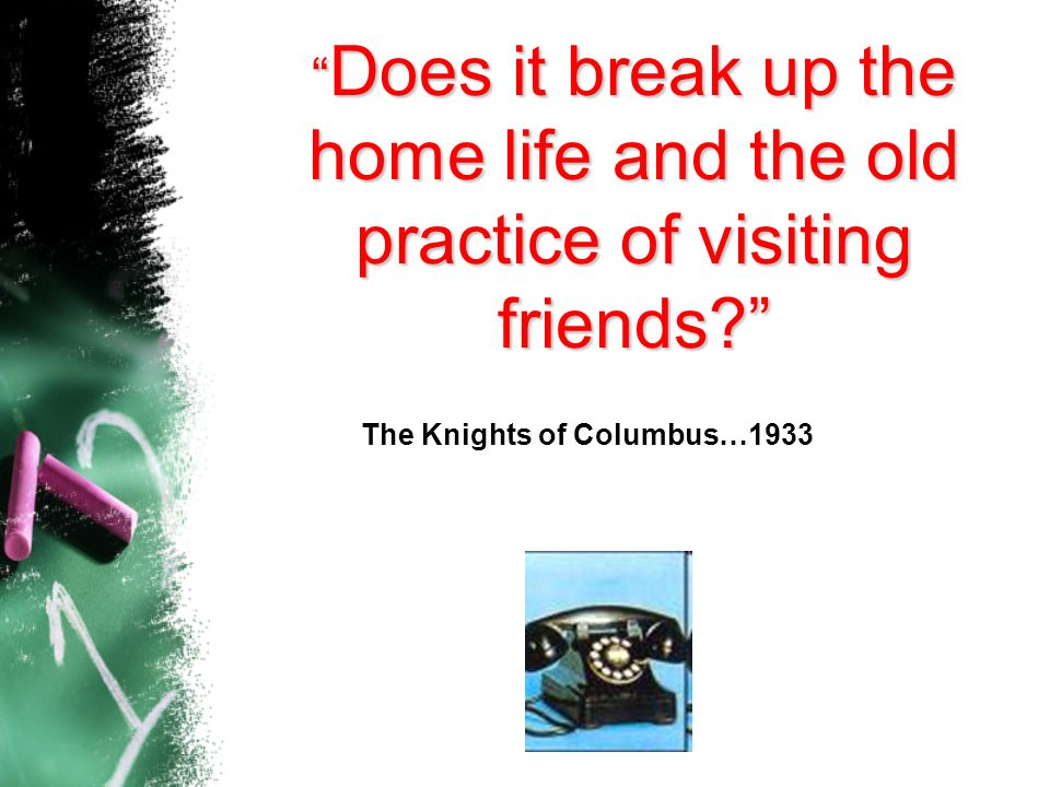 The Knights of Columbus…1933