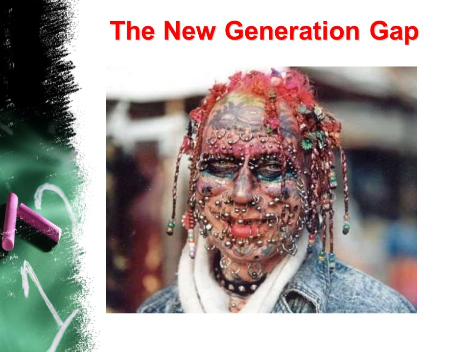 The New Generation Gap