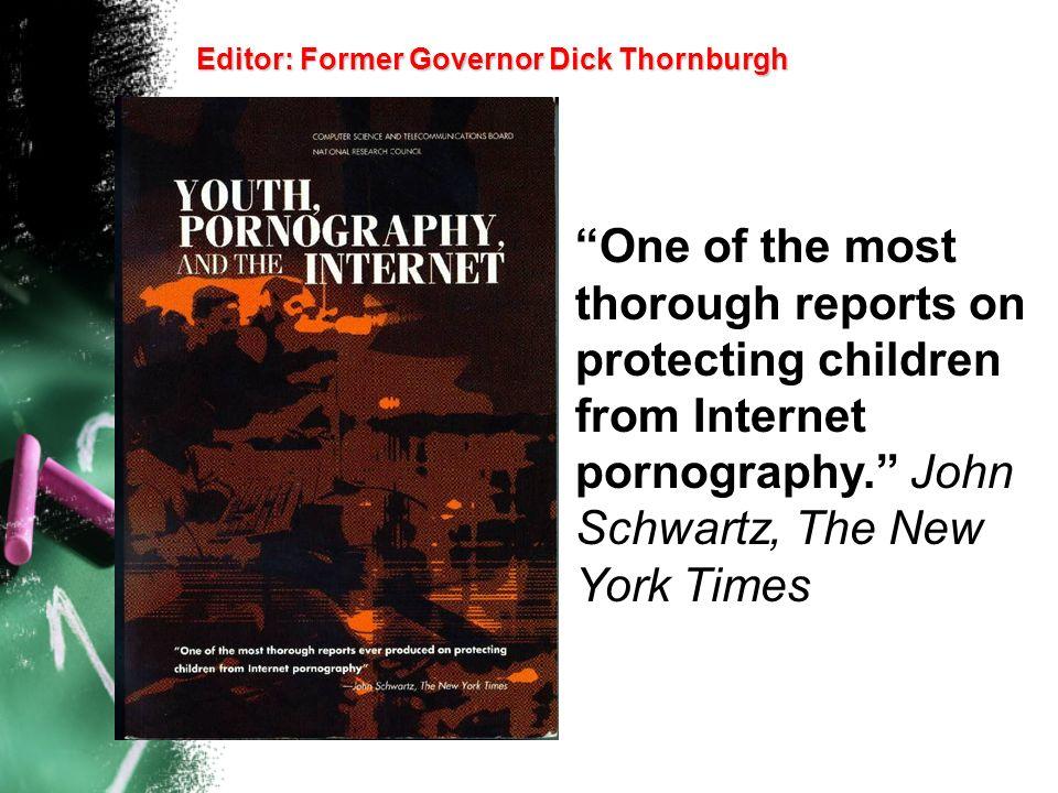 Editor: Former Governor Dick Thornburgh