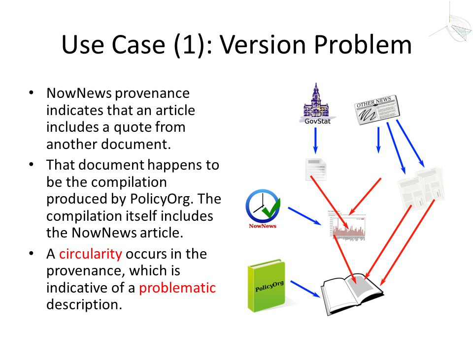 Use Case (1): Version Problem