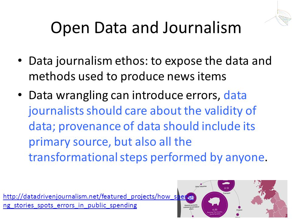 Open Data and Journalism
